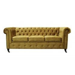 Chesterfield Sofa 3 osobowa OXFORD