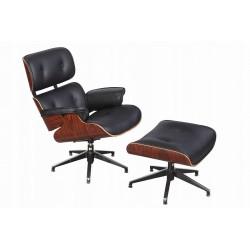 Fotel relaksacyjny Revi z podnóżkiem