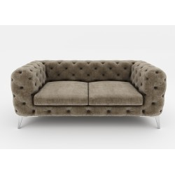 Chesterfield Sofa Pikowana York 3 osobowa