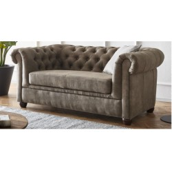 Chesterfield Sofa Pikowana CHESTER 2 osobowa